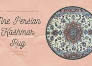 Fine Persian Kashmar Rug