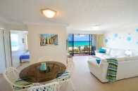 Gold coast palm beach ocean view apartment
