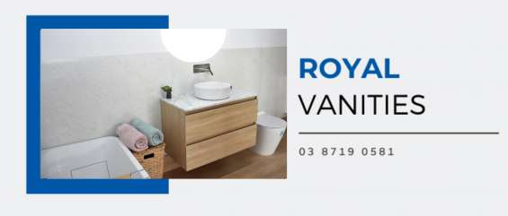 Concrete benchtops melbourne | royal vanities
