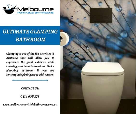 Seeking the best glamping bathrooms?
