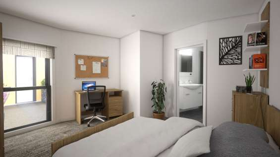 International house student accommodation