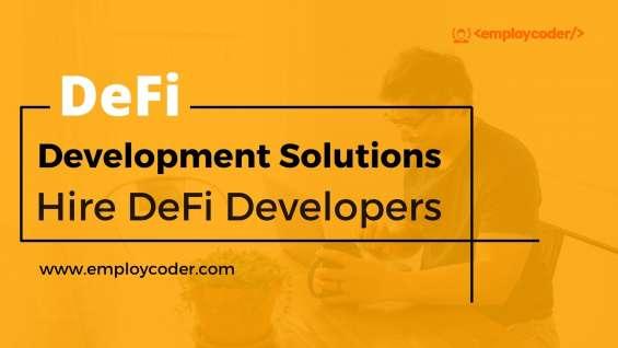 Hire defi developers | defi development company