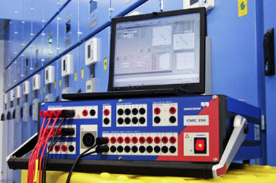 Protection relay testing equipment