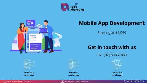 Mobile app development company | australia | let's nurture