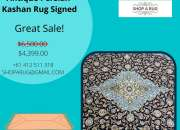 Buy Antique Persian Kashan Rug Collection | Shoparug