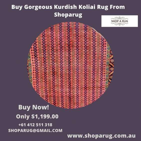 Buy gorgeous kurdish koliai rug from shoparug