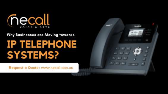 Why businesses are moving towards ip telephone system?