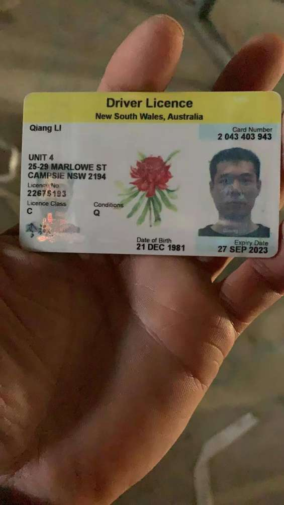 Dls, id cards and passports for sale.