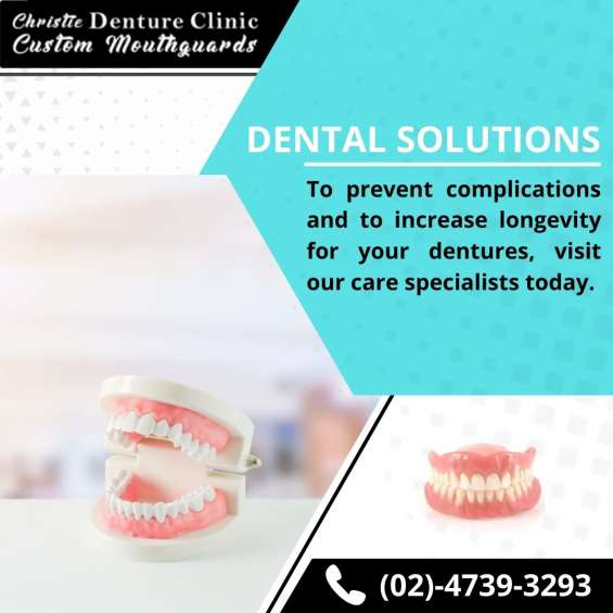 Find the best emergency dentures clinic in katoomba - dell & ben christie denture clinic