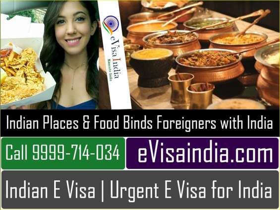 Indian places & food binds foreigners with india