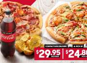 2 Large Pizzas @ Pizza Hut Orange - Orange, NSW