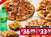 3 Large Pizzas @ Pizza Hut Orange - Orange, NSW