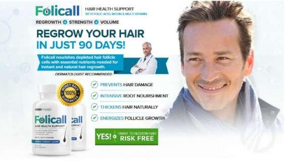 Folicall hair growth - hair regrow supplements really work natural way!