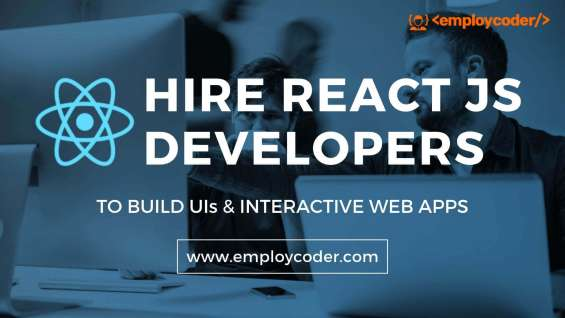 Hire certified react js developers from employcoder