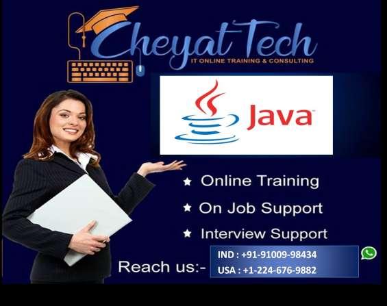 Java online training by cheyat tech