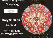 Buy the latest design and collection of Tribal Kazak Afghan Rug from Shoparug.