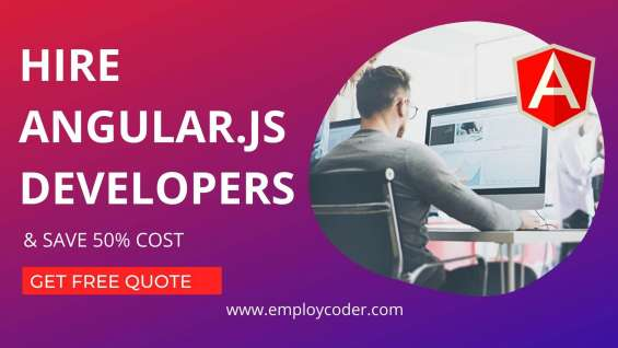 Build your web application by hiring our angular js developer