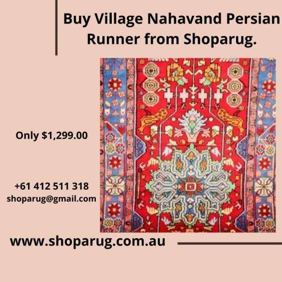 Buy village nahavand persian runner from shoparug.