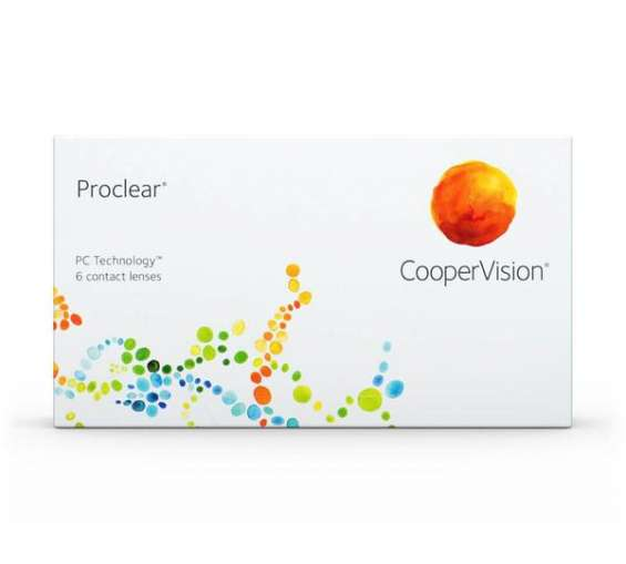 Proclear contact lenses (6 pack)