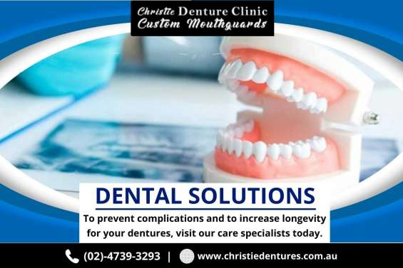 Find the best emergency dentures repairs in blue mountains