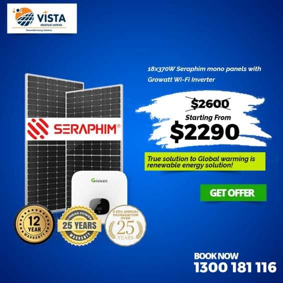 Best quality solar panel in perth, australia   vista electrical controls