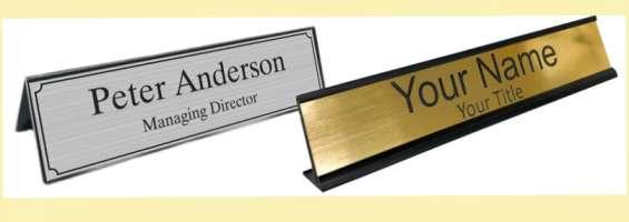 Best impressive and attractive office desk name plate in australia