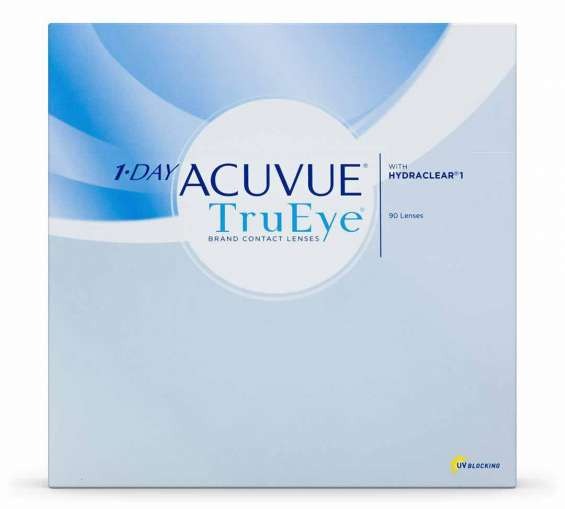 Acuvue trueye daily contact lenses