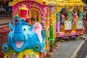 Hire kids amusement rides parks