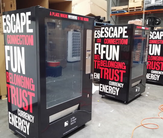 Protect your employees with the ppe vending machine!