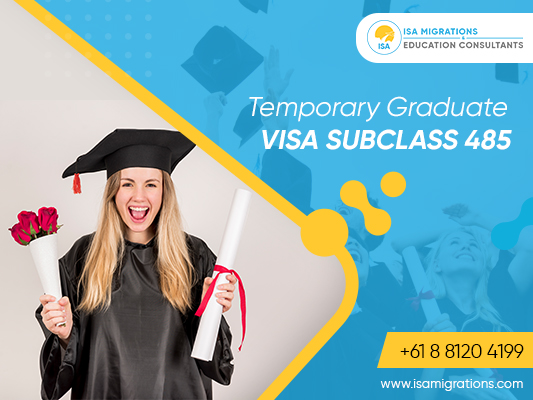 Apply for temporary graduate visa 485 with migration agent adelaide