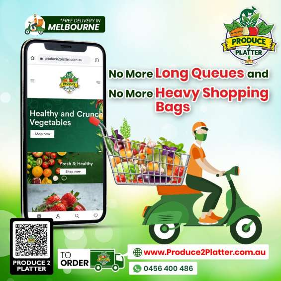 No more long queues and no more heavy shopping bags