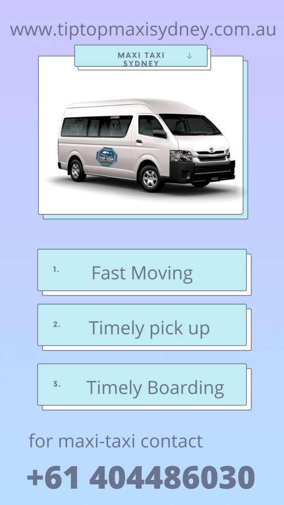 Best maxi cab in sydney|book maxi van online