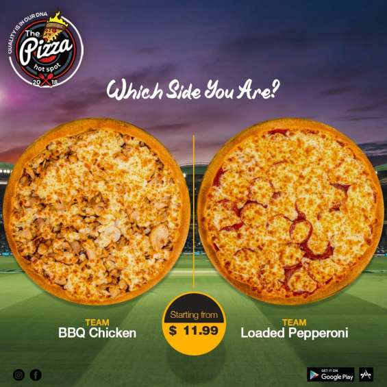 Pizza shops / pizza restaurants in south geelong