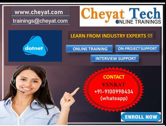 Dotnet online training - cheyat tech