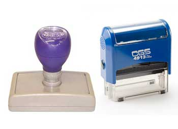 Buy custom self inking rubber stamps online
