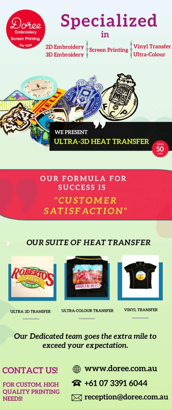 We present ultra 3d heat transfer   doree